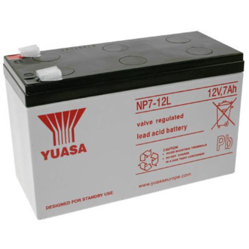 Yuasa Bleiakku NP7-12L 12,0Volt 7.000mAh mit 6,3mm Steckanschlüssen
