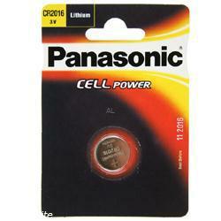 PANASONIC Lithium-Knopfzelle CR2016 3,0Volt 90mAh im Blister