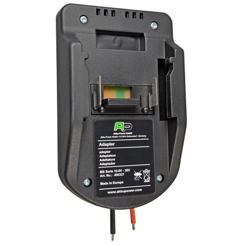 Akku Power Entlade-Adapter für Li-Ion Makita Makstar Akkus