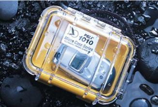 PELI 1010 Schutzkoffer, Micro Case schwarz