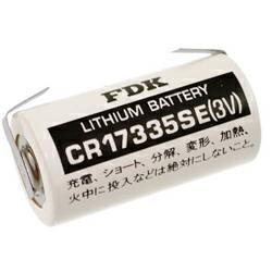 FDK (ehemals Sanyo) CR17335 Lithium Zelle 2/3A mit Lötfahnen in U-Form