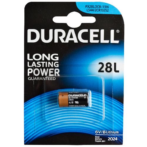 Duracell Foto-Batterie 28L Lithium mit 6 Volt