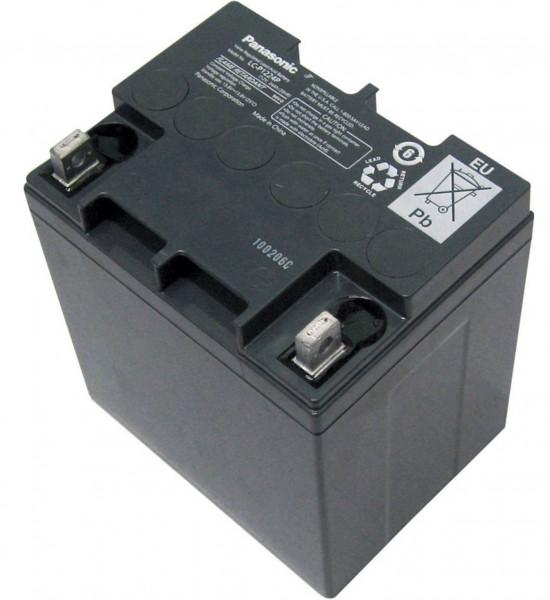 Panasonic Bleiakku LC-P1224APG 12,0Volt 24,0Ah mit M5 Schraubanschluss