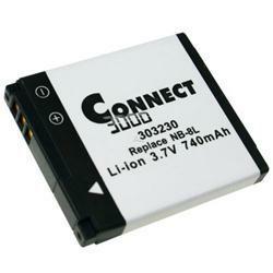 Akku passend für Canon NB-8L 3,7Volt 700mAh Li-Ion (kein Original)