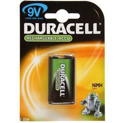 Duracell Supreme 9V-Block Akku 6AM6 mit 170mAh