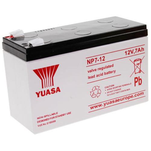 Yuasa Bleiakku NP7-12 12,0Volt 7,0Ah mit 4,8mm Steckanschlüssen