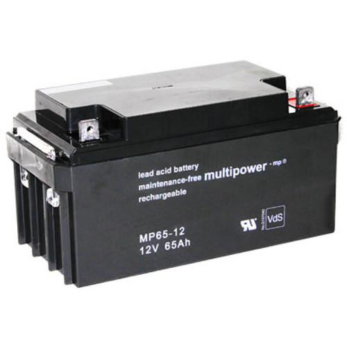 Multipower Bleiakku MP65-12 12,0Volt 65,0Ah mit M6 Schraubanschluss