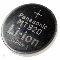 Panasonic MT-920 Lithium-Knopfzelle, Kondensatorbatterie aufladbar