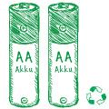 Mignon AA HR6 Akku-Test
