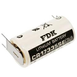 FDK (Sanyo) Lithium Batterie CR17335SE Lithium Batterie 3,0Volt Stecksystem: 3er Print