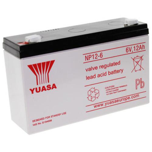 Yuasa Bleiakku NP12-6 6,0Volt 12,0Ah mit 6,3mm Steckanschlüssen