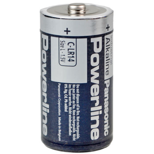 Panasonic Industrial Baby Batterie Powerline - 1 Stück 1,5Volt