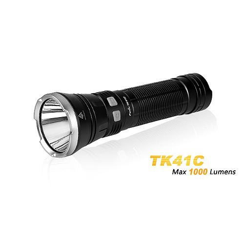 Fenix TK41Cree XM-L2 U2 LED und Philips LUXEON Z LEDs Taschenlampe mit 1.000 Lumen und 480 Meter Leu