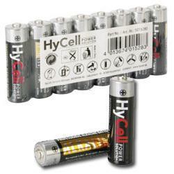 8 Stück Ansmann HyCell AA alkaline Mignon Batterien, Herst.Nr 5015280