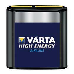 VARTA Flachbatterie 4912 High Energy Flachbatterie Tray