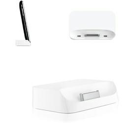 Dockingstation für Apple iPhone 3G/3GS Dockingstation (kein Original) Farbe: Weiss