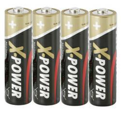 Ansmann X-Power Alkaline Mignon (AA) LR6 Batterie 1,5Volt AlMN 4 Stück TRAY