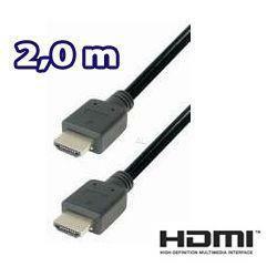 HDMI Kabel mit 19 pol. Stecker - 2,0m