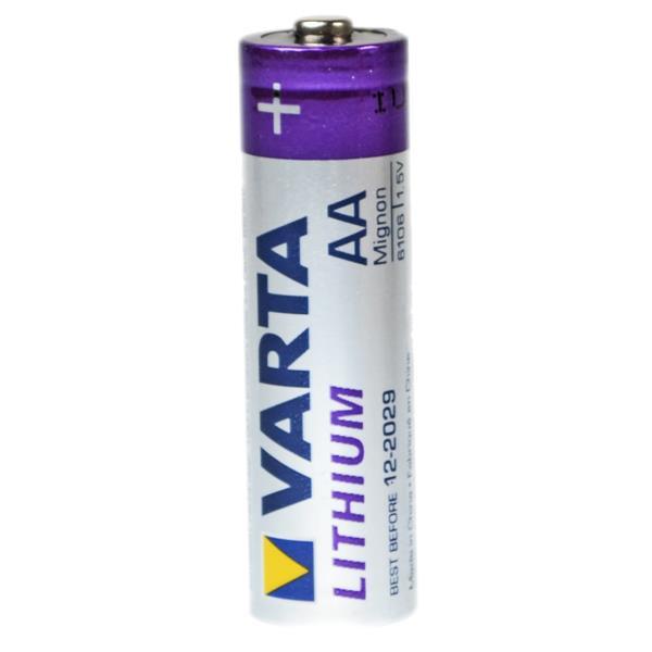Varta AA Mignon Lithium Batterie 1,5 Volt 4 Stück