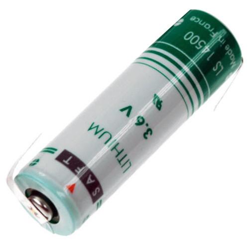 Saft Lithium Batterie LS 14500 Mignon 3,6Volt AA mit Lötfahnen in Z-Form