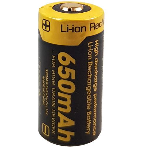 Nitecore RC123A geschützter Li-Ionen Akku 16340 3,6V/3,7V 650mAh