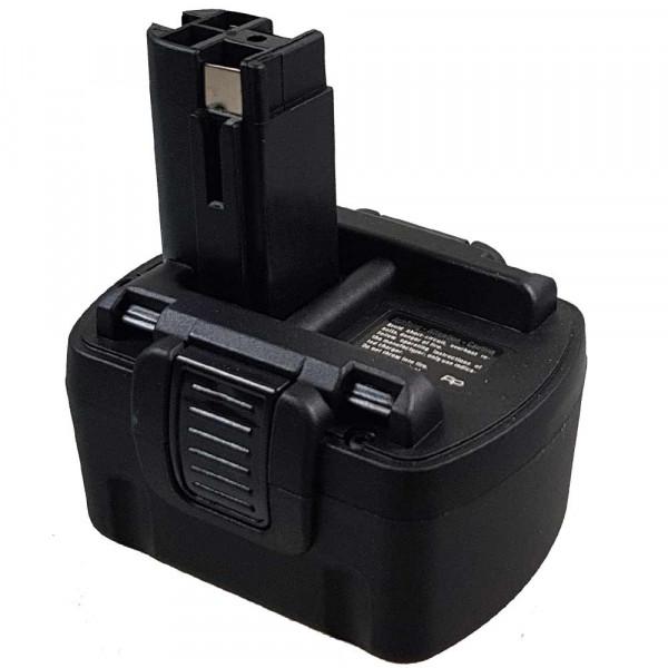 P2102 Ersatzakku passend für Bosch 2 607 335 264 mit 14,4V 1,7Ah Ni-MH