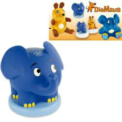 Ansmann Sternenlicht Elefant mit Schlummerliedfunktion (Sendung mit der Maus)