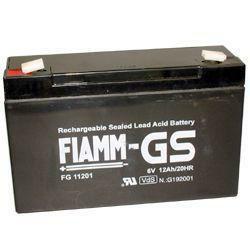 FIAMM Bleiakku FG11201 6,0 Volt 12 Ah mit 4,8mm Steckanschlüssen