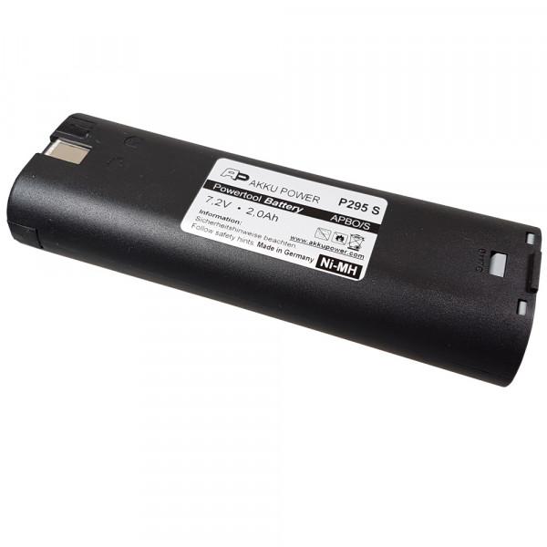 Akku passend für Bosch 2 607 335 175 mit 7,2V 2,0Ah Ni-MH