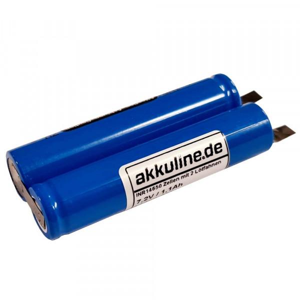 7,2 Volt Ersatz-Akku für Dremel Micro 8050