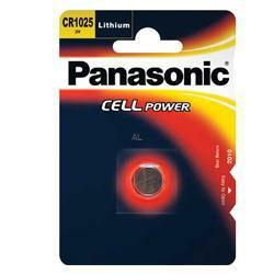 Panasonic CR1025 Lithium-Knopfzelle Cell Power 3,0Volt 30mAh im Blister