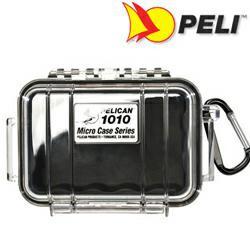 Peli 1010 Koffer, Micro Case schwarz/transparent, 1010-025-100E