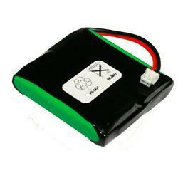 Akku für Audioline DECT 580 mit 2,4Volt 500mAh Ni-MH
