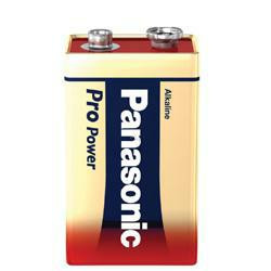 Panasonic Pro Power 6LR61PPG 9Volt Batterie 6AM6 AlMN
