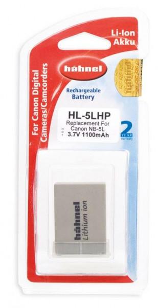 Hähnel Akku passend für Canon NB-5L 3,7Volt 1.100mAh Li-Ion (kein Original)