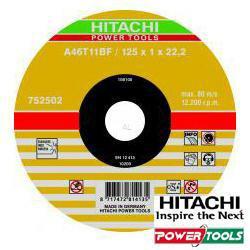 HiKoki Trennscheibe A46U 125 x 1,5 x 22,2 mm für Inox (50Stk.)