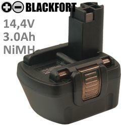 14,4V O-PackErsatz-Akku passend für Bosch 2 607 335 432 mit 3,0Ah Ni-MH