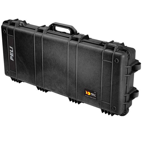 Peli 1700 Schutzkoffer, Case 1700 schwarz mit Schaumstoff & integriertem Trolley