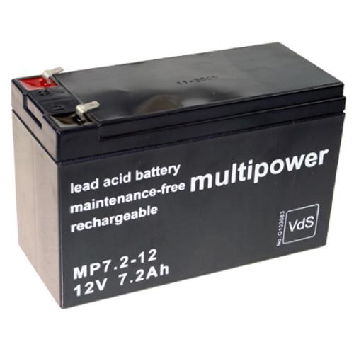 Multipower MP7.2-12 12V 7,2Ah Akku Test