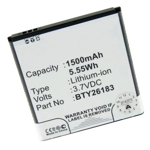 Akku passend für Mobistel Cynus F4 mit 1500 mAh Li-Ion (kein Original)