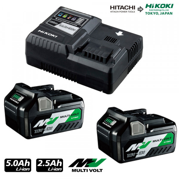 Hikoki Booster Pack 5Ah Multivolt A-Akku (UC18YSL3WEZ)