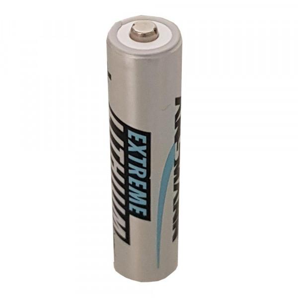 Ansmann Extreme Lithium Batterie AAA Micro Batterien FR03 - 2er Pack