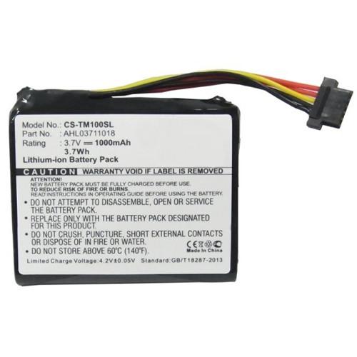 PDA GPS Akku für TOMTOM GO 1000 3,7Volt 1000mAh Li-Ion (kein Original)