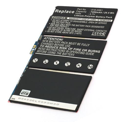 Akku passend für Apple iPad 2 Li-Polymer 616-0561
