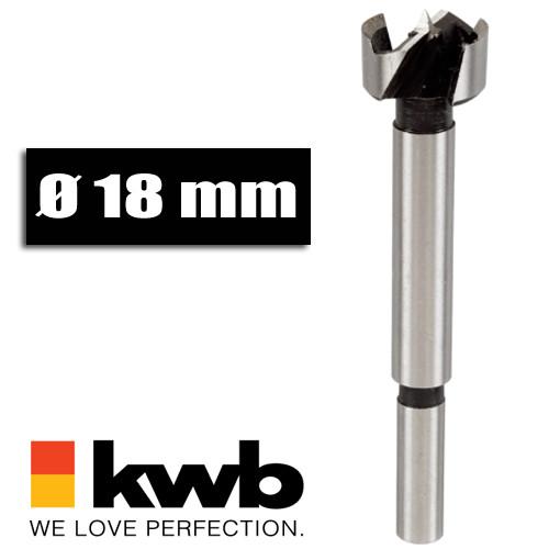 Forstnerbohrer Ø 18 mm für Bohrmaschinen u. Akkuschrauber