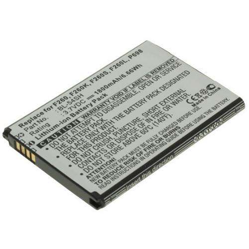 Akku passend für LG Optimus F7 / L90 3,7Volt 1800mAh Li-Ion (kein Original)