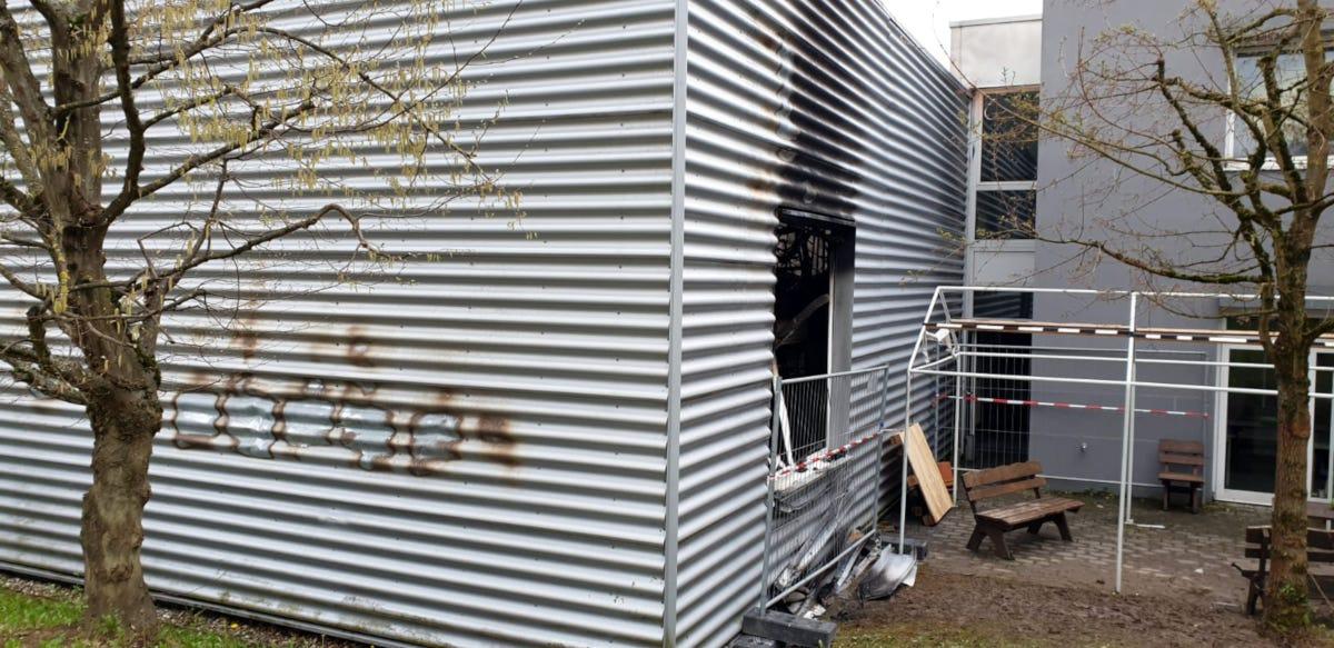Nach dem Brand bei Akku Power Schorndorf