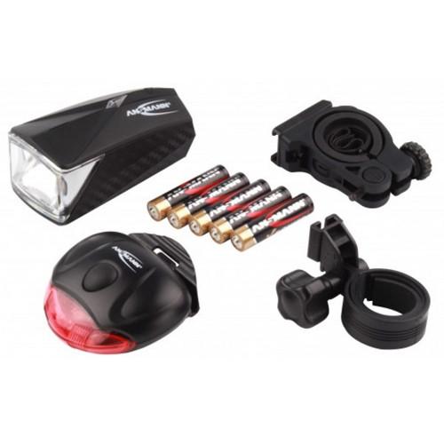 Ansmann LED- Fahrradlampen-Set Bikelight Combo LiteRider