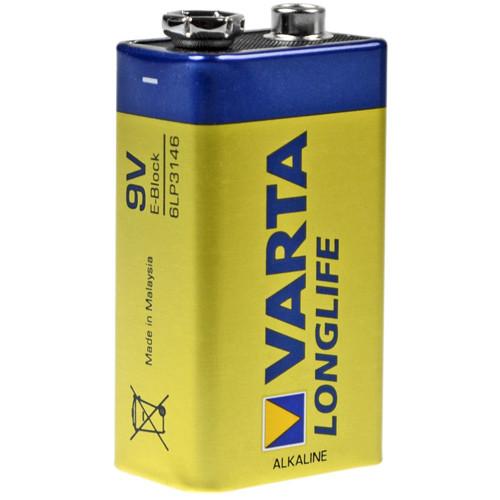 Varta Batterie Longlife Extra 4122 9,0Volt Block 6AM6 420mAh AlMN