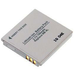 Akku passend für Canon NB-4L / NB-4LH 3,7Volt 650mAh Li-Ion (kein Original)